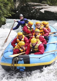 White Water Rafting in Queenstown NZ